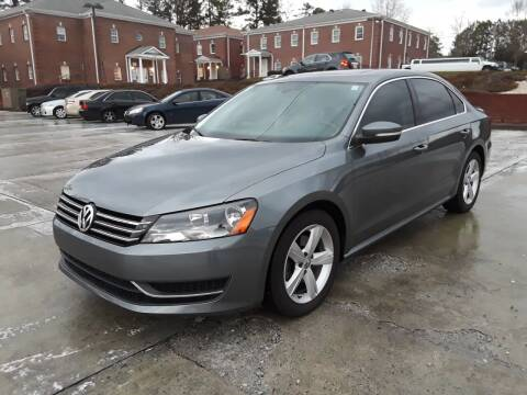 2012 Volkswagen Passat for sale at Don Roberts Auto Sales in Lawrenceville GA