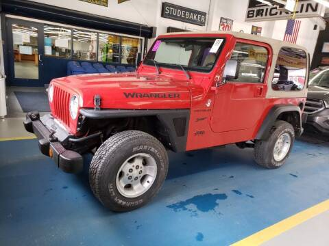 2002 Jeep Wrangler for sale at Franklyn Auto Sales in Cohoes NY