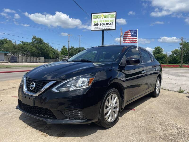 2017 Nissan Sentra for sale at Shock Motors in Garland TX