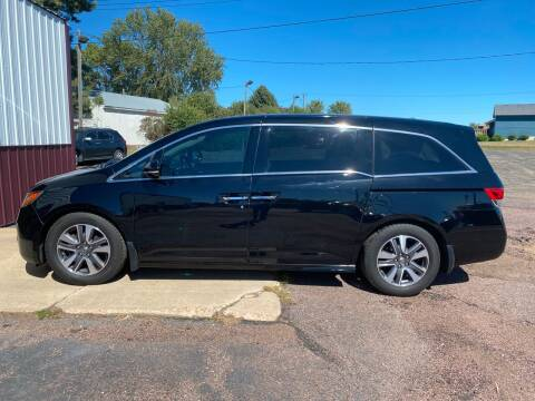 2015 Honda Odyssey for sale at Diede's Used Cars in Canistota SD