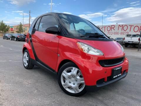 2009 Smart fortwo for sale at Boktor Motors in Las Vegas NV