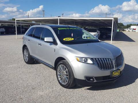 2011 Lincoln MKX for sale at Bostick's Auto & Truck Sales in Brownwood TX