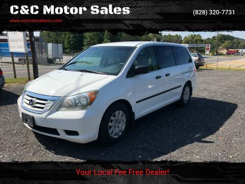 2008 Honda Odyssey for sale at C&C Motor Sales LLC in Hudson NC