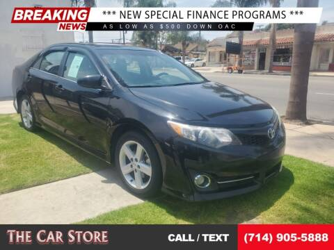 2014 Toyota Camry for sale at The Car Store in Santa Ana CA