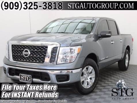 2018 Nissan Titan for sale at STG Auto Group in Montclair CA