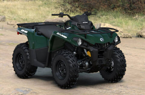 2022 Can-Am ATV OUTL MAX DPS 450 GY for sale at Head Motor Company - Head Indian Motorcycle in Columbia MO