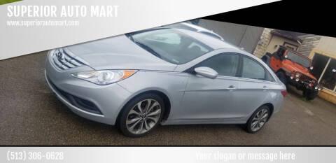 2012 Hyundai Sonata for sale at SUPERIOR AUTO MART in Amelia OH
