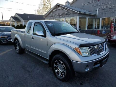 2005 Nissan Frontier for sale at Empire Alliance Inc. in West Coxsackie NY