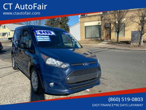 2014 Ford Transit Connect Cargo for sale at CT AutoFair in West Hartford CT