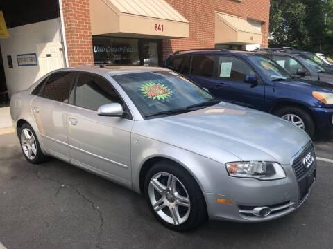 2007 Audi A4 for sale at Used Cars of Fairfax LLC in Woodbridge VA