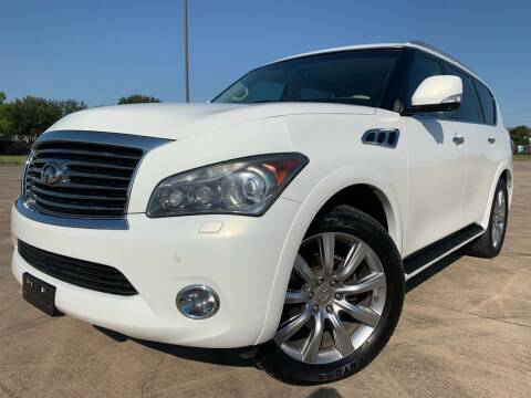 2012 Infiniti QX56 for sale at AUTO DIRECT Bellaire in Houston TX