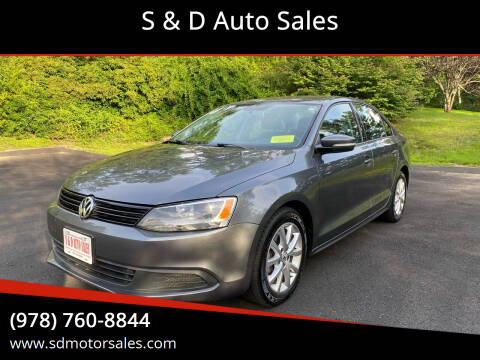 2011 Volkswagen Jetta for sale at S & D Auto Sales in Maynard MA