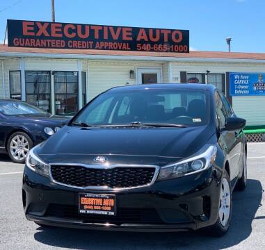 2017 Kia Forte for sale at Executive Auto in Winchester VA