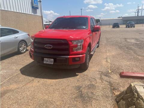 2015 Ford F-150 for sale at STANLEY FORD ANDREWS in Andrews TX