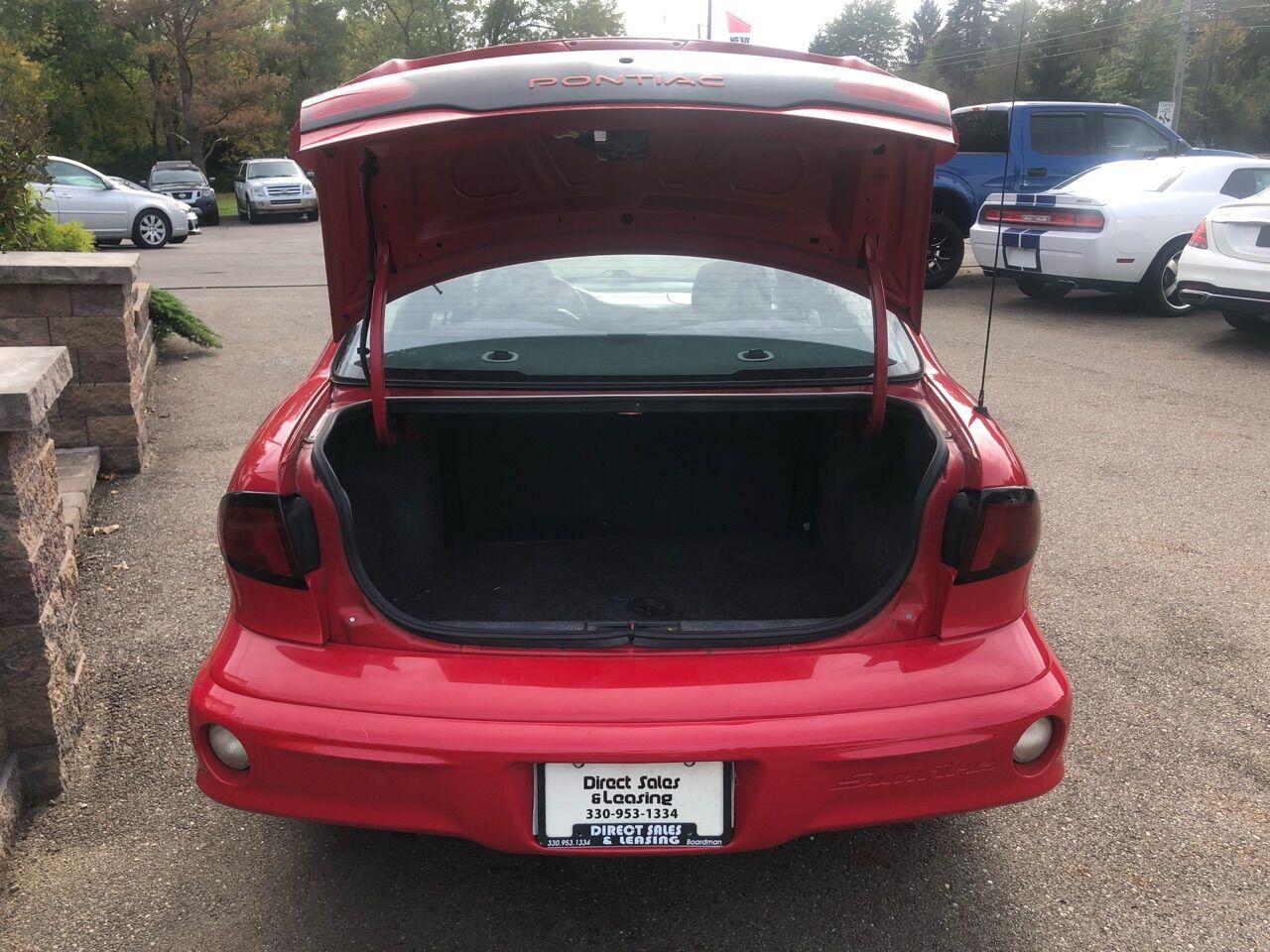 2002 Pontiac Sunfire 4dr Car