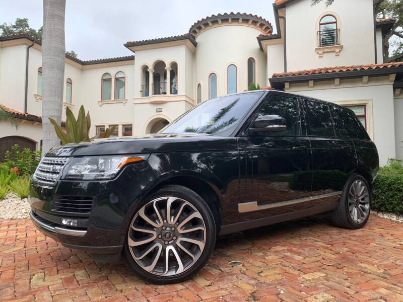 2016 Land Rover Range Rover for sale at Mirabella Motors in Tampa FL