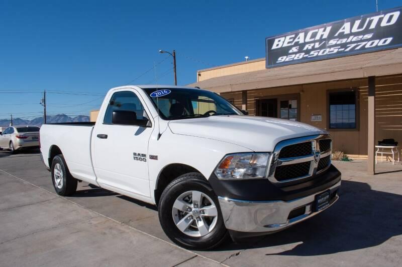 2016 RAM Ram Pickup 1500 for sale at Beach Auto and RV Sales in Lake Havasu City AZ