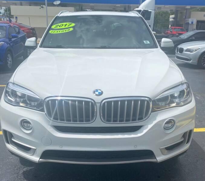 2017 BMW X5 for sale at Navarro Auto Motors in Hialeah FL