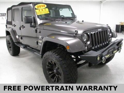 2014 Jeep Wrangler Unlimited for sale at Sports & Luxury Auto in Blue Springs MO