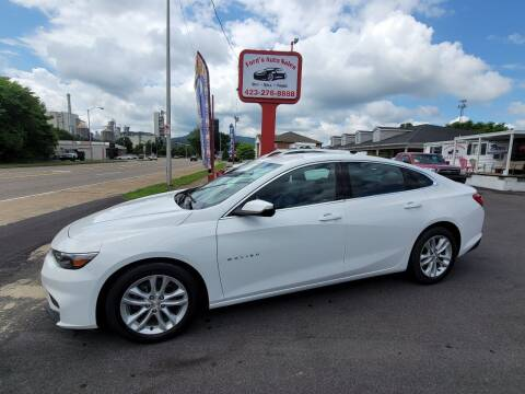 2016 Chevrolet Malibu for sale at Ford's Auto Sales in Kingsport TN