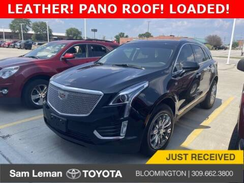 2017 Cadillac XT5 for sale at Sam Leman Toyota Bloomington in Bloomington IL