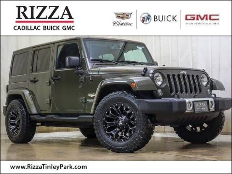 2015 Jeep Wrangler Unlimited for sale at Rizza Buick GMC Cadillac in Tinley Park IL