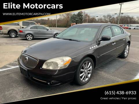 2008 Buick Lucerne for sale at Elite Motorcars in Smyrna TN