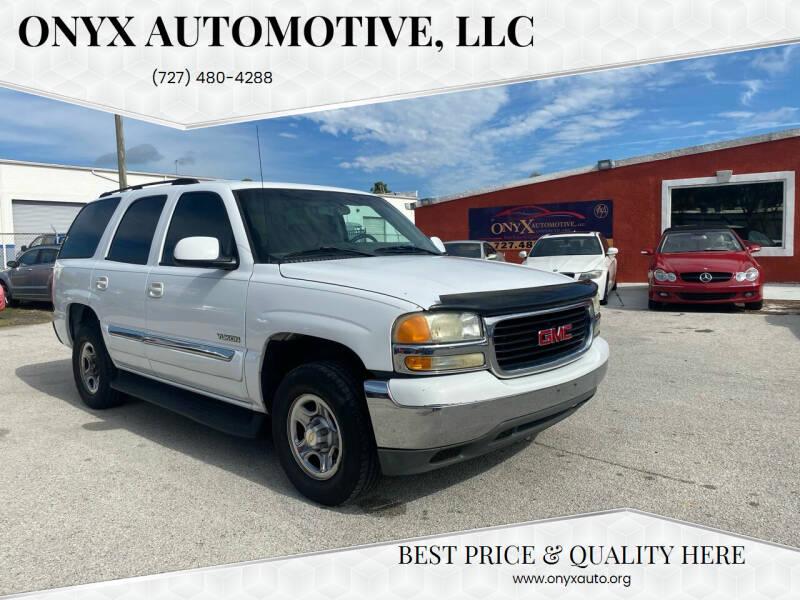 2004 GMC Yukon for sale at ONYX AUTOMOTIVE, LLC in Largo FL
