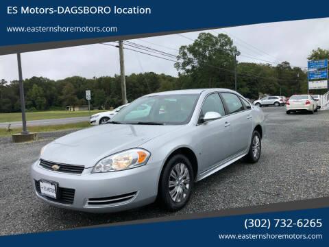2009 Chevrolet Impala for sale at ES Motors-DAGSBORO location in Dagsboro DE