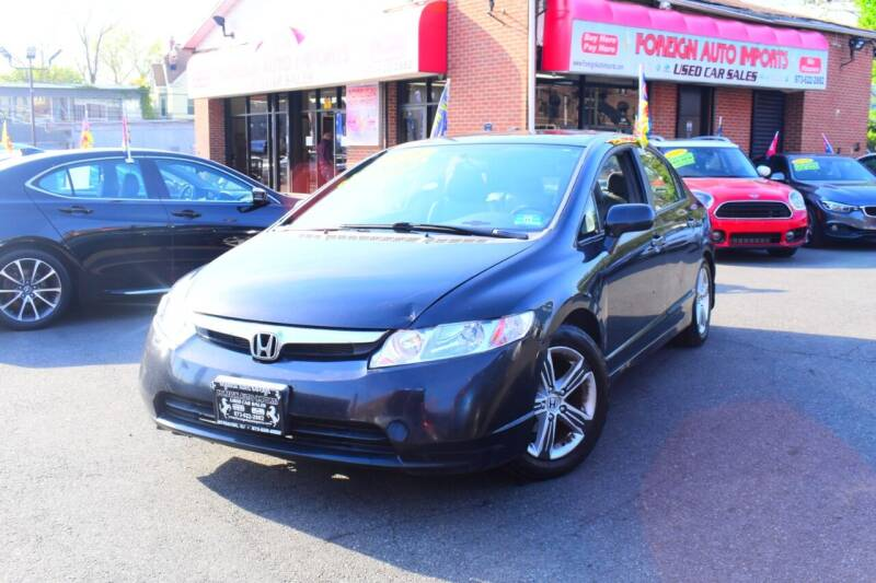 2008 Honda Civic for sale at Foreign Auto Imports in Irvington NJ