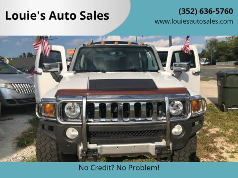 2008 HUMMER H3 for sale at Louie's Auto Sales in Leesburg FL