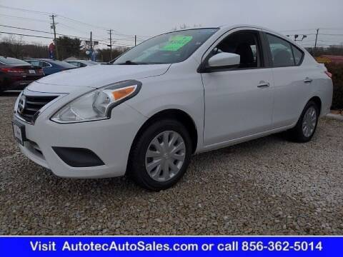 2016 Nissan Versa for sale at Autotec Auto Sales in Vineland NJ
