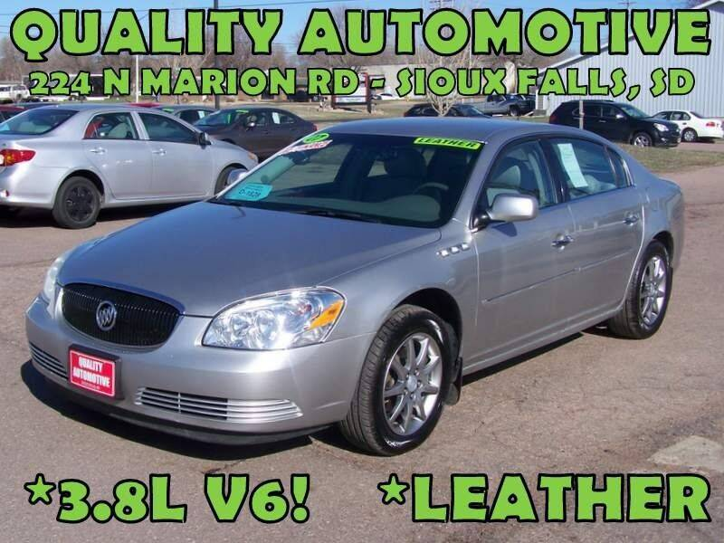 2007 Buick Lucerne for sale at Quality Automotive in Sioux Falls SD