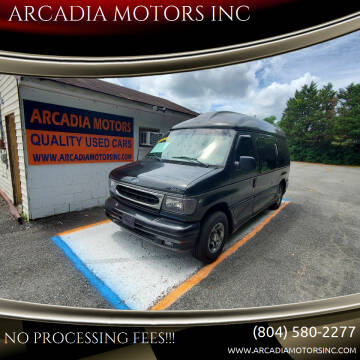 2002 Ford E-Series Chassis for sale at ARCADIA MOTORS INC in Heathsville VA