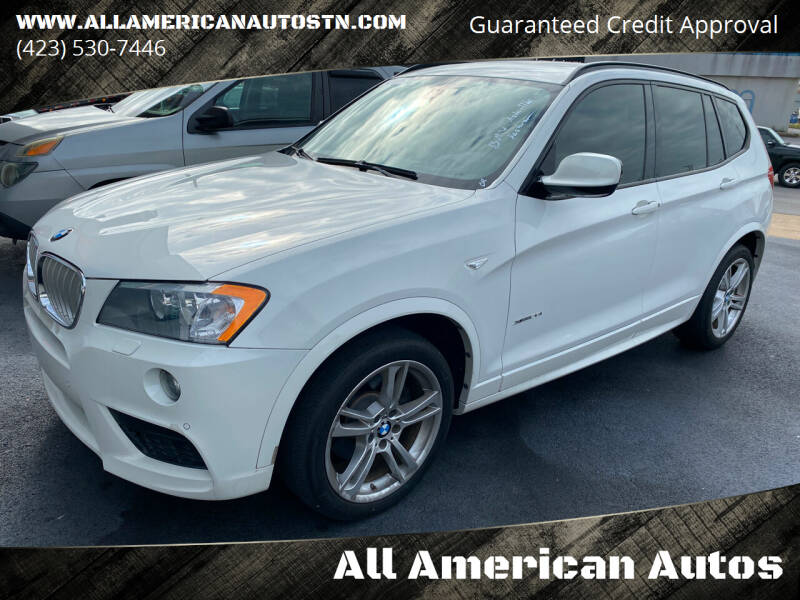2014 BMW X3 for sale at All American Autos in Kingsport TN