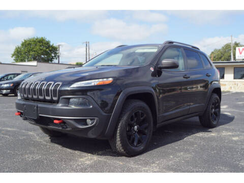 2015 Jeep Cherokee for sale at Credit Connection Sales in Fort Worth TX