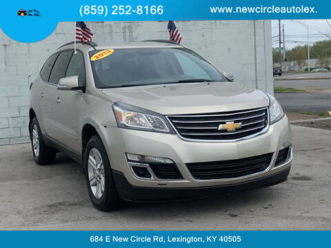 2013 Chevrolet Traverse for sale at New Circle Auto Sales LLC in Lexington KY
