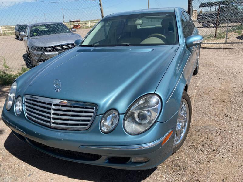 2003 Mercedes-Benz E-Class for sale at PYRAMID MOTORS - Pueblo Lot in Pueblo CO