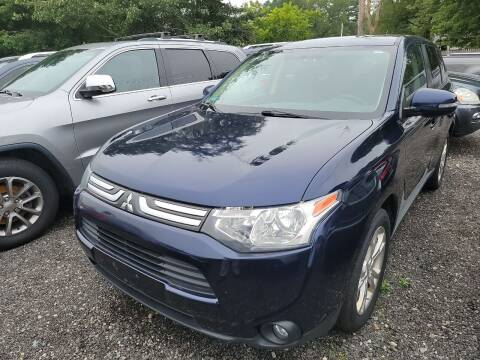 2014 Mitsubishi Outlander for sale at Top Quality Auto Sales in Westport MA