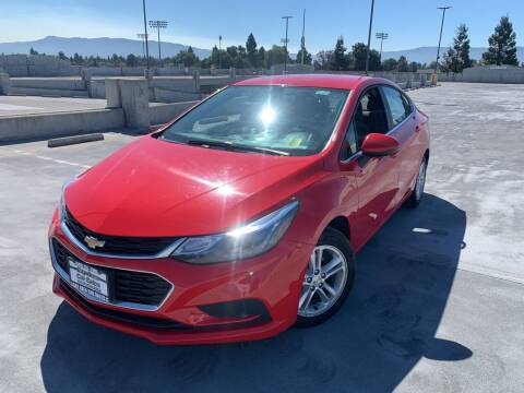2018 Chevrolet Cruze for sale at BAY AREA CAR SALES 2 in San Jose CA