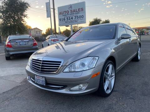 2007 Mercedes-Benz S-Class for sale at A1 Auto Sales in Sacramento CA