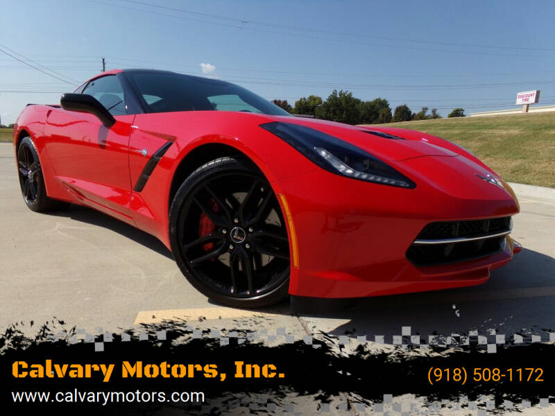 2014 Chevrolet Corvette for sale at Calvary Motors, Inc. in Bixby OK