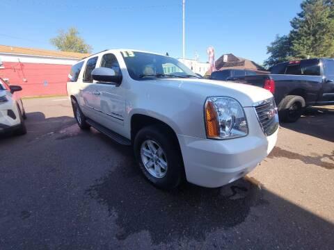 2013 GMC Yukon XL for sale at WB Auto Sales LLC in Barnum MN