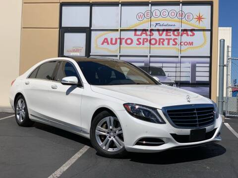 2017 Mercedes-Benz S-Class for sale at Las Vegas Auto Sports in Las Vegas NV