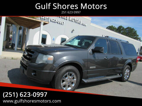 2007 Ford Expedition EL for sale at Gulf Shores Motors in Gulf Shores AL
