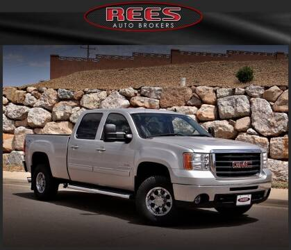 2009 GMC Sierra 2500HD for sale at REES AUTO BROKERS in Washington UT