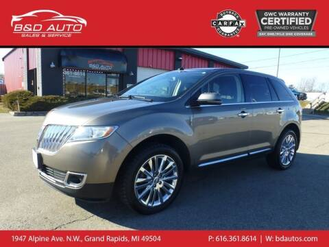 2012 Lincoln MKX for sale at B&D Auto Sales Inc in Grand Rapids MI