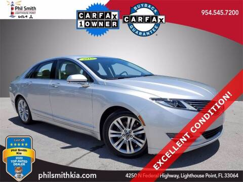 2015 Lincoln MKZ for sale at PHIL SMITH AUTOMOTIVE GROUP - Phil Smith Kia in Lighthouse Point FL