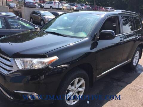 2012 Toyota Highlander for sale at J & M Automotive in Naugatuck CT