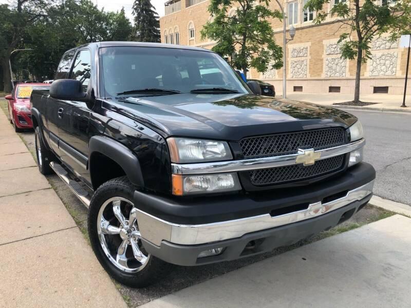 2003 Chevrolet Silverado 1500 for sale at Jeff Auto Sales INC in Chicago IL